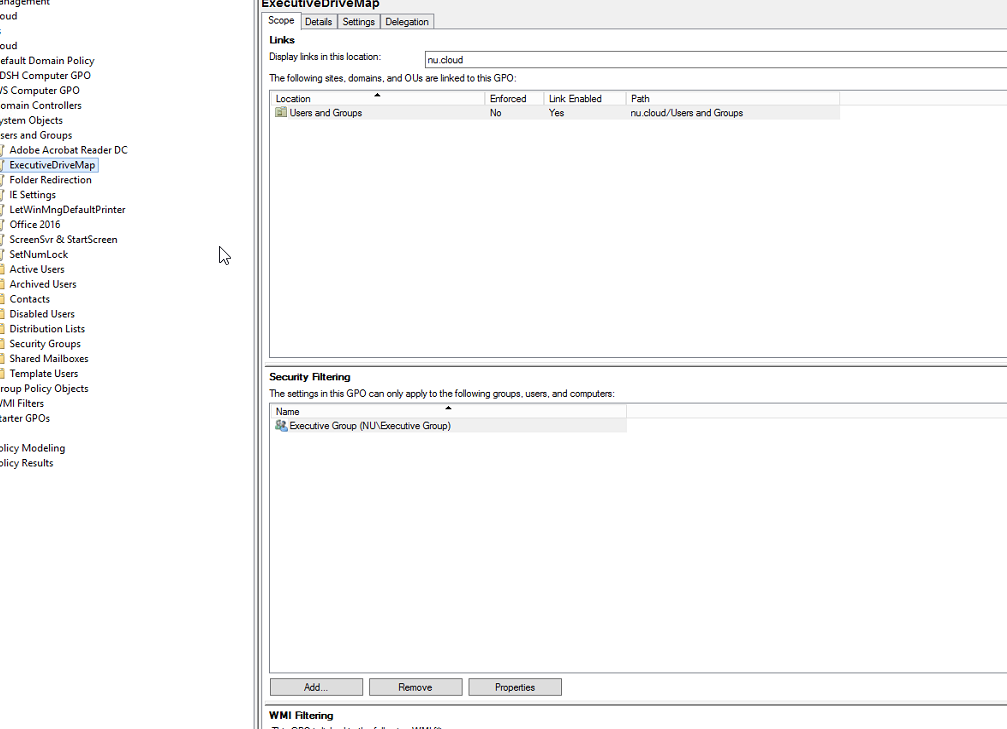 Mapping a Shared Folder Using Group Policy – Nerdio Help Center