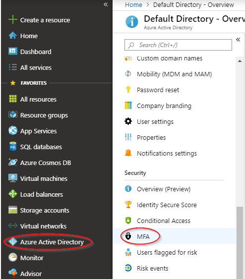 I want to enable MFA to secure my administrator accounts
